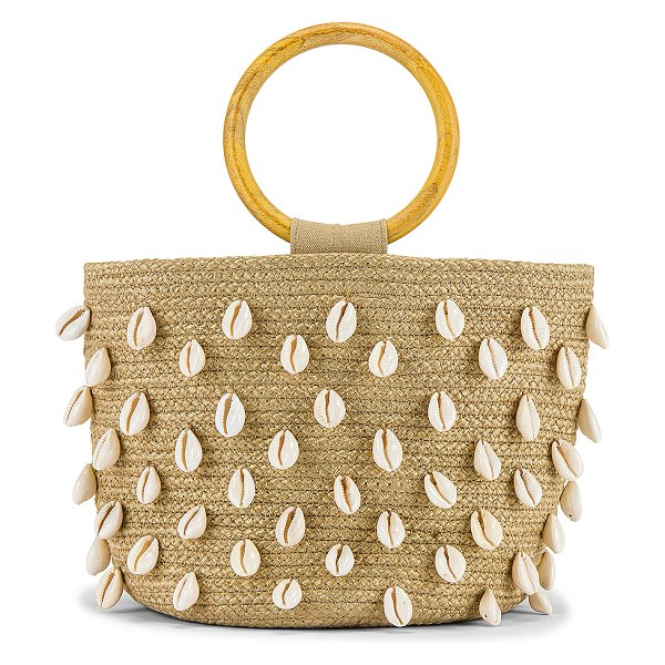L*SPACE sycamore cove bag in natural