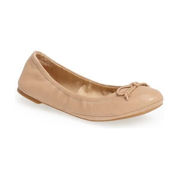LUCKY BRAND eadda flat - A classic flat is shaped with an elasticized topline for...