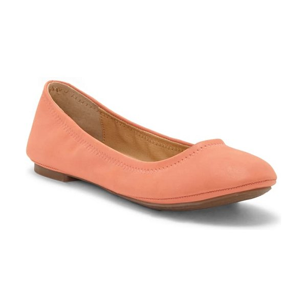 Lucky Brand 'emmie' flat in coral