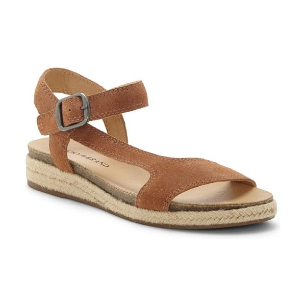 Lucky Brand gabrien sandal in brown