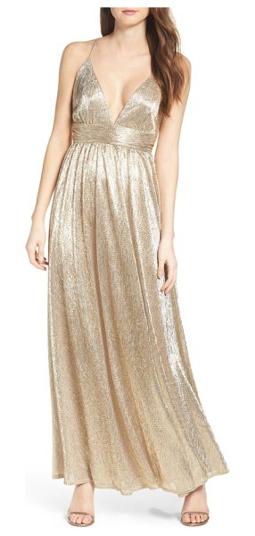 LULUS metallic maxi dress - Shimmer with every move you make in this dazzling maxi...