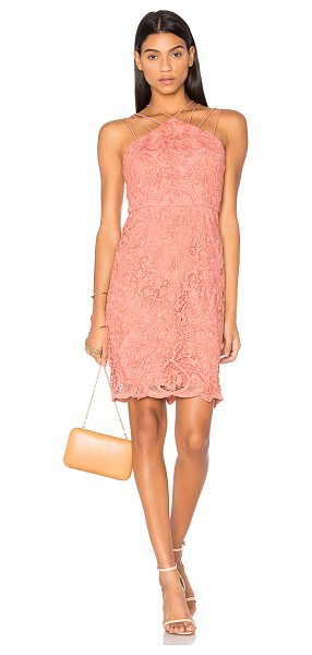 Lumier Dancing On My Own Mini Dress in coral - Shell: 100% polyLining: 96% poly 4% spandex. Hand wash...