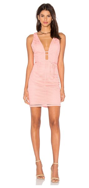 Lumier Give Me One Good Reason Dress in peach - Shell: 96% poly 4% spandexLining: 97% poly 3% spandex....