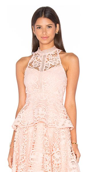 LUMIER Lost In Time Top - Self: 100% polyLining: 95% poly 5% spandex. Hand wash...