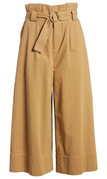 LUSH paperbag waist crop pants - The question isn't what won't pair beautifully with...