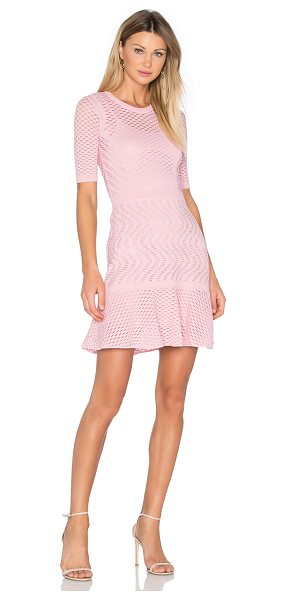 M MISSONI 3/4 Sleeve Fit & Flare Dress - Upscale and modern with a girlish touch. Radiate...