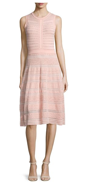"M MISSONI Sleeveless Rivet-Stitch A-Line Dress - M Missoni knit dress. Approx. length: 41""L down center..."