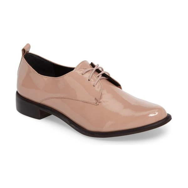 M4D3 FOOTWEAR m4d3 osaka derby - A low stacked heel balances the svelte almond toe of a...