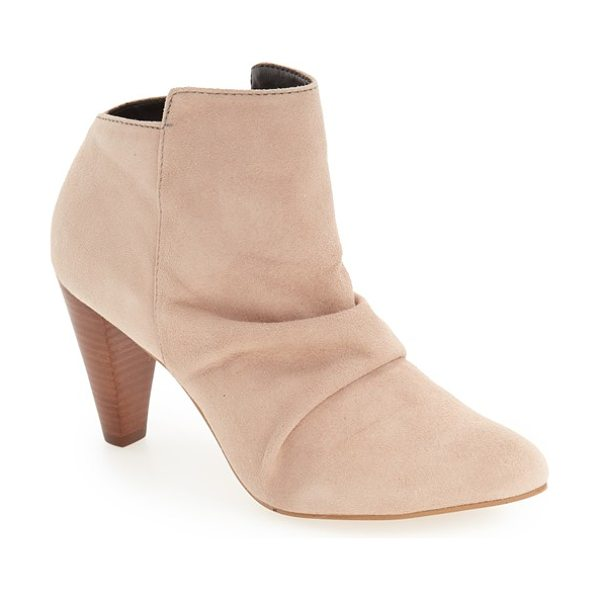 M4D3 FOOTWEAR m4d3 'rochelle' slouchy bootie - A perfectly slouchy instep and a gorgeous tapered heel...