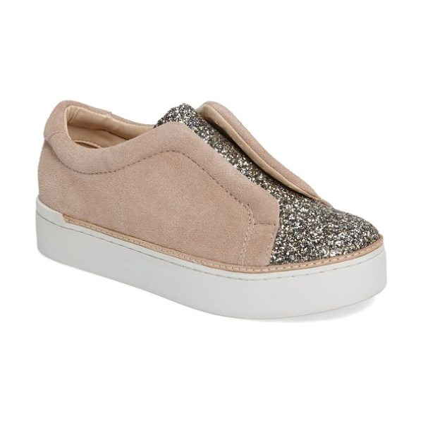 M4D3 FOOTWEAR m4d3 super slip-on sneaker in tan leather - Ultra-smooth leather adds to the luxurious appeal of a...