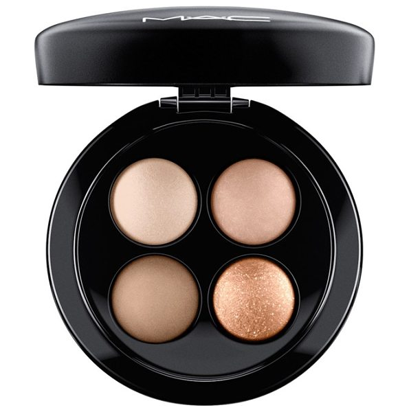 MAC Mineralize eyeshadow quad in nano-nude - MAC Mineralize Eyeshadow Quad features four coordinated...