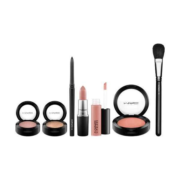 MAC look in a box natural flare collection - Get a complete look to make your holiday makeup a breeze...