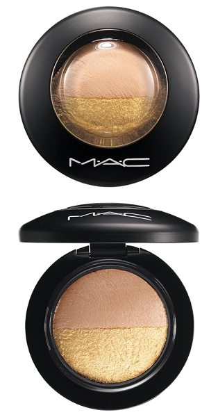 MAC Mineralize eyeshadow duo in spiced metal - This duo features two coordinating eyeshadow colors...