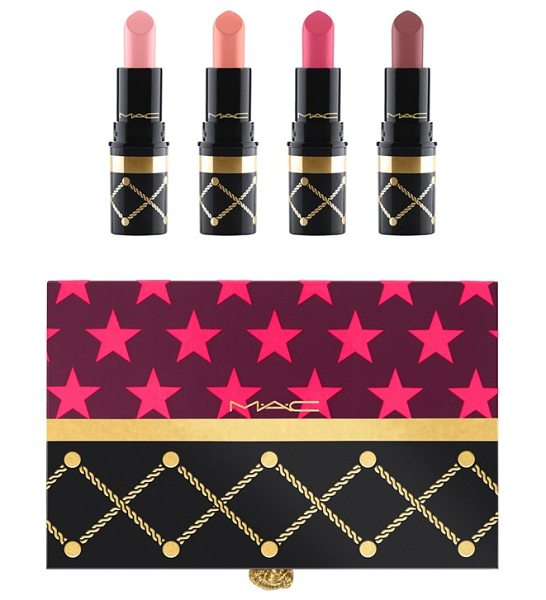 MAC nutcracker sweet nude mini lipstick kit in nude - What it is: A limited-edition collection of mini...