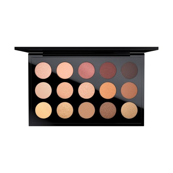 MAC 'warm neutral times 15' eyeshadow palette in warm neutral - A palette of 15 exquisite shades of long-wearing, highly...