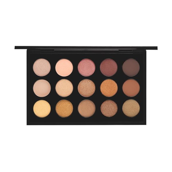 MAC warm neutral times 15 eyeshadow palette - A palette of 15 exquisite shades of long-wearing, highly...