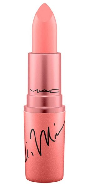 MAC mac x nicki minaj lipstick in nickis nude - What it is: M.A.C and Nicki Minaj join together for a...