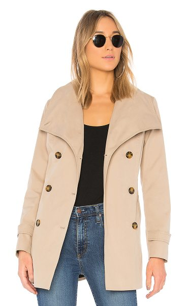 Mackage Lynda Trench in brown - Self: 60% cotton 40% polyCombo: 100% nylonLining: 100%...
