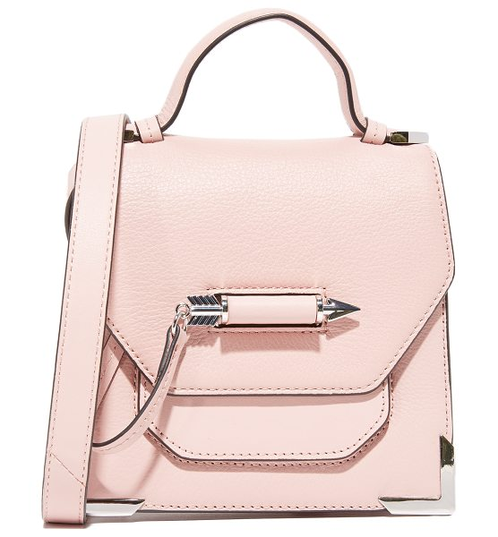 Mackage rubie cross body bag in petal - This sculptural Mackage bag is accented with polished...