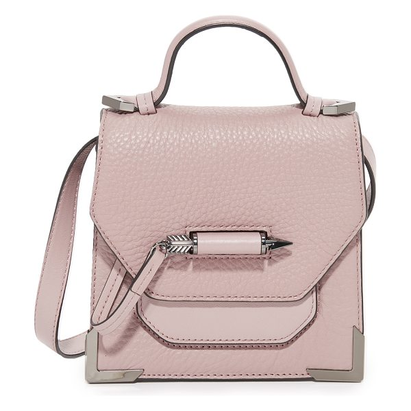 MACKAGE rubie mini cross body bag - This sculptural Mackage bag is accented with polished...