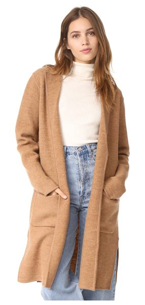 MADEWELL camden sweater coat - This cozy, nubby merino Madewell cardigan is cut long...