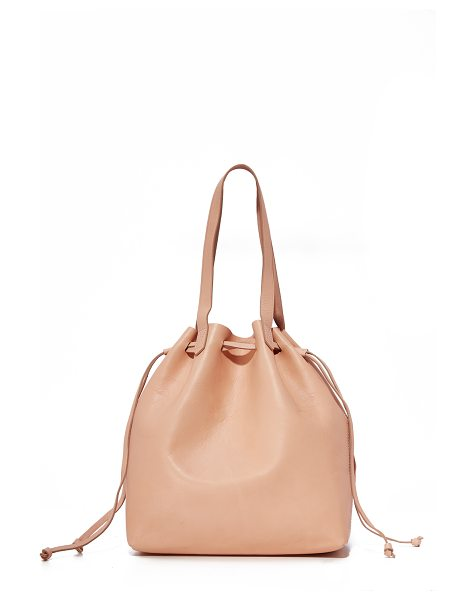 Madewell the drawstring transport tote in tinted blush - A classic Madewell transport tote updated with a...