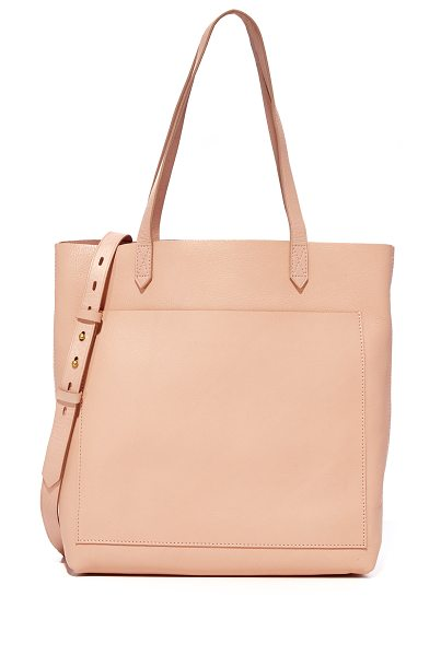 Madewell the medium transport tote in tinted blush - A simple Madewell tote in rich leather. Unlined,...