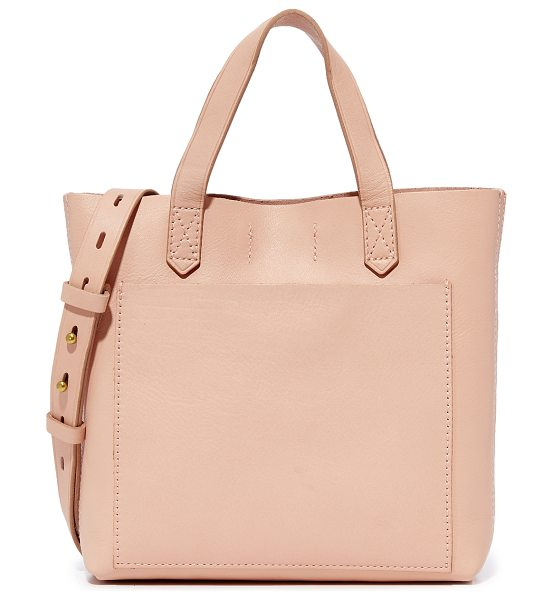 Madewell the small transport cross body bag in tinted blush - A scaled-down version of Madewell's signature transport...