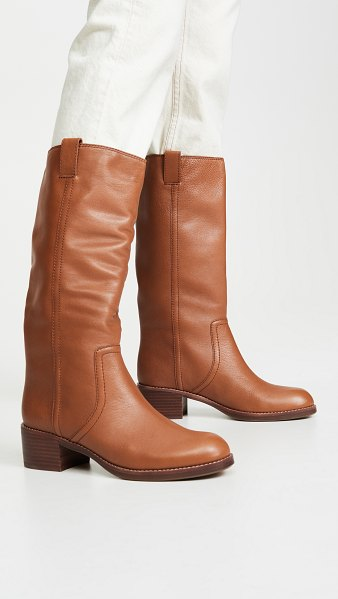 Madewell the allie boots in english saddle