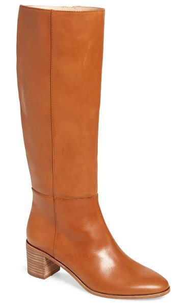 Madewell the carlotta tall boot in brown