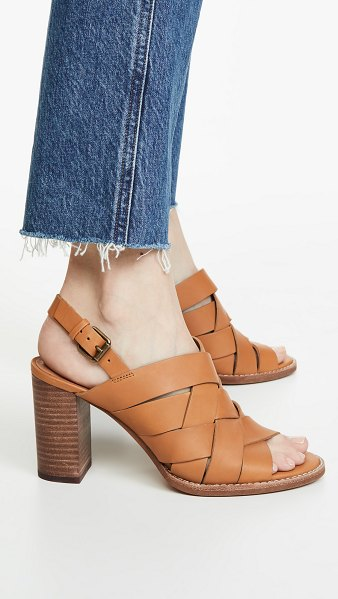 Madewell the cindy sandals in desert camel