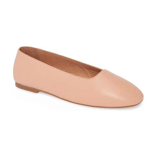 Madewell the cory flat in pink