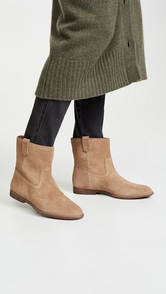 Madewell the denise slouch boots in faded birch