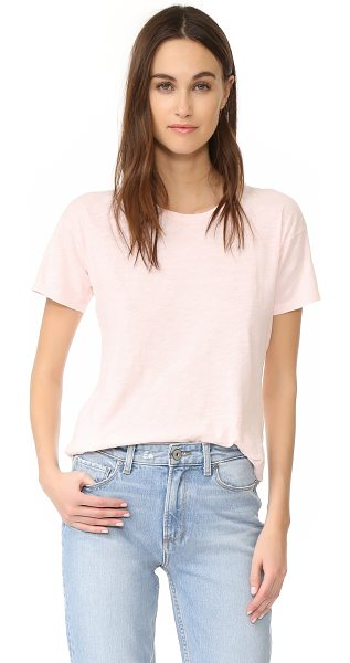 Madewell whisper crew neck tee in weathered pink - This feather-light Madewell tee is cut from soft jersey....