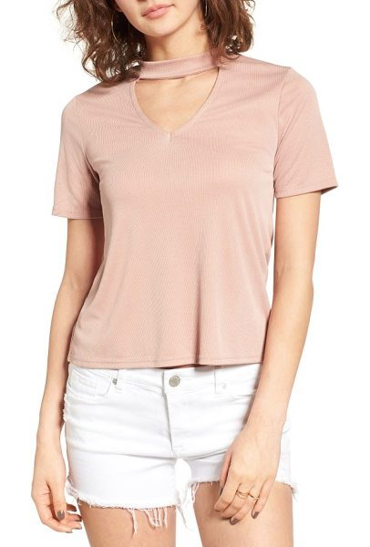 MADISON & BERKELEY choker tee - Cut from a supremely soft modal blend, this laid-back...