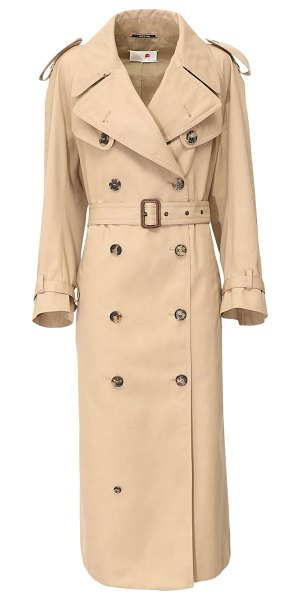 MAISON MARGIELA Belted trench coat in beige