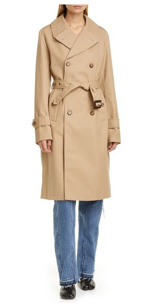MAISON MARGIELA trench coat in brown