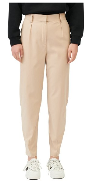 Maje tapered pants in beige