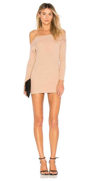 MAJORELLE Alissa Dress in tan