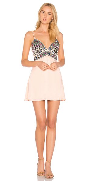MAJORELLE Anchor Dress in coral - Cutesy detailing contrasts the sexy appeal of...