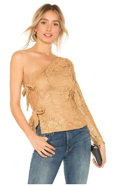 MAJORELLE aurora top in golden luxe