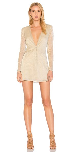 MAJORELLE Bossa Nova Dress - Pretty and plunging, Majorelle's Bossa Nova Dress shows...