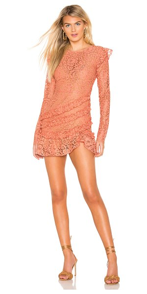 MAJORELLE lee dress in golden coral - MAJORELLE Lee Dress in Coral. - size XXS (also in...