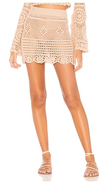 MAJORELLE lucy skirt in sand
