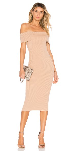 MAJORELLE lulu dress in bone
