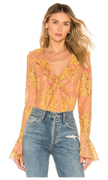 MAJORELLE roma top in golden blush - MAJORELLE Roma Top in Beige. - size XXS (also in XS)...