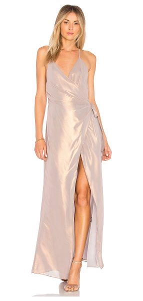 MAJORELLE Sylvia Dress in metallic neutral