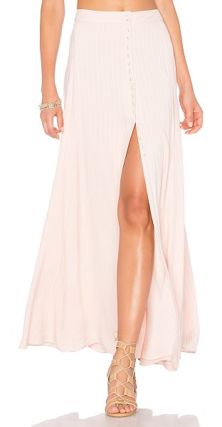 "MAJORELLE Sangria Skirt - ""High-waisted and highly coveted, the Sangria Maxi Skirt..."