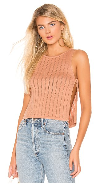 MAJORELLE yacht tank in light nude