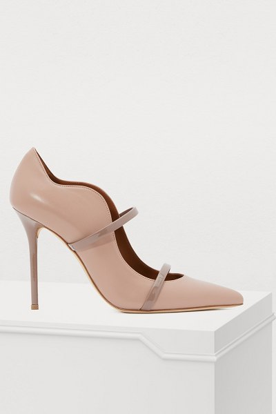 MALONE SOULIERS Maureen 100MM pumps in dove
